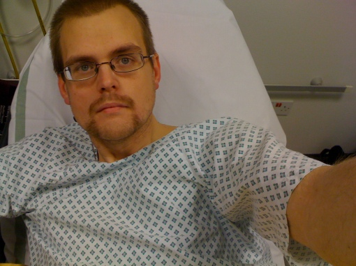 39 Stone Cyclist In Hospital AGAIN :(