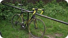 Custom Trek Madone 1274 Project One, 39 stone cyclist